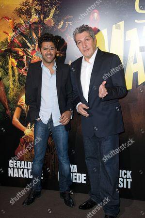 Jamel Debbouze and Alain Chabat