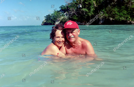 Roger Whittaker and wife, Nathalie