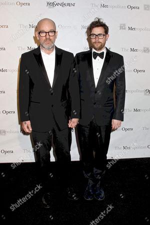 Michael Stipe and boyfriend Thomas Dozol