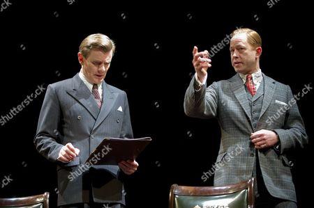 Daniel Betts as David (King Edward VIII) and Charles Edwards as Bertie (King George VI)