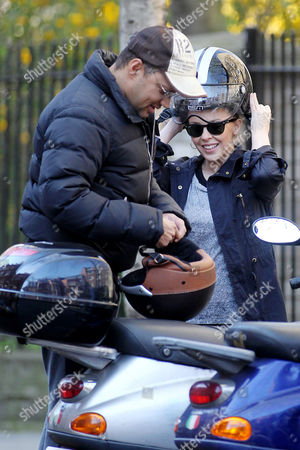 Stock Picture of Kylie Minogue and Gerry Devaux