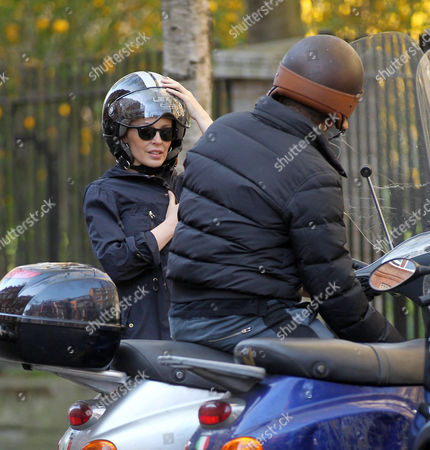 Editorial image of Kylie Minogue Out and About in London, Britain - 27 Mar 2012