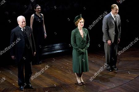 David Killick as Stanley Baldwin, Charlotte Randle as Myrtle Logue and Daniel Betts as King Edward VIII