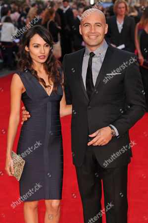 Stock Picture of Candice Neil and Billy Zane
