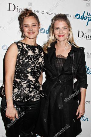 Stock Image of Marie Denarnaud and Melanie Laurent