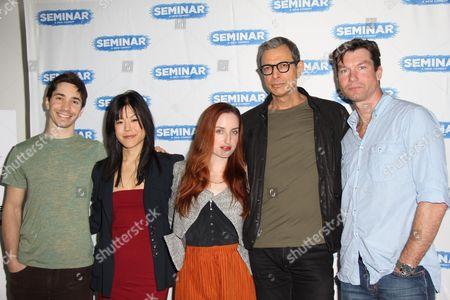 Justin Long, Hettienne Park, Zoe Lister Jones, Jeff Goldblum and Jerry O'Connell