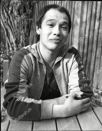 David Yip Actor At Home 1985.