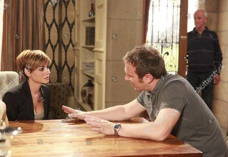 Declan Macey [Jason Merrels] is grateful to Dermott Macey [Frank Kelly] for asking Mia Macey [Sapphire Elia] to go to Ireland with him.