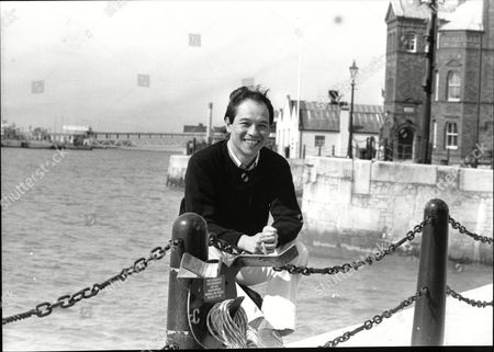 David Yip Actor On Quayside 1989.