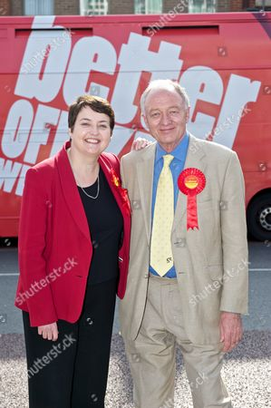 Editorial photo of Ken Livingstone campaigning during the London mayoral elections, Woolwich, London, Britain - 30 Mar 2012