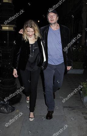 Freya St Johnston and Liam Neeson