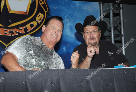 Jerry Lawler and Jim Ross