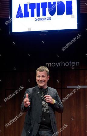Editorial photo of Altitude Comedy Festival, Mayrhofen, Austria - 01 Mar 2012