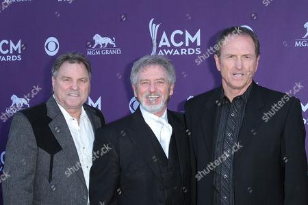 Larry Gatlin, Steve Gatlin and Rudy Gatlin with Darius Rucker