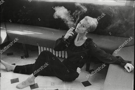 Sarah Winter Smoking. Woman Smoking - 1960's