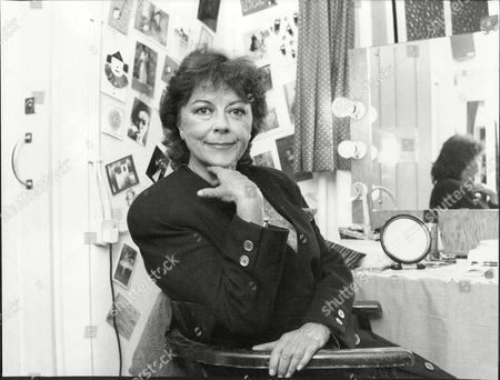 Dorothy Tutin Actress In Changing Room 1989.