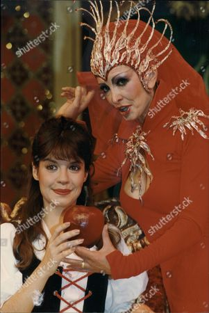 Louise English And Marti Caine Died (11/95) Appearing In Pantomime Snow White At The Strand Theatre.