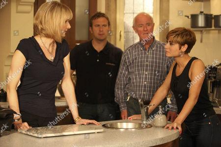 Mia Macey [Sapphire Elia] tells Ella Hart [Corrine Wickes] she never wants to see her again.