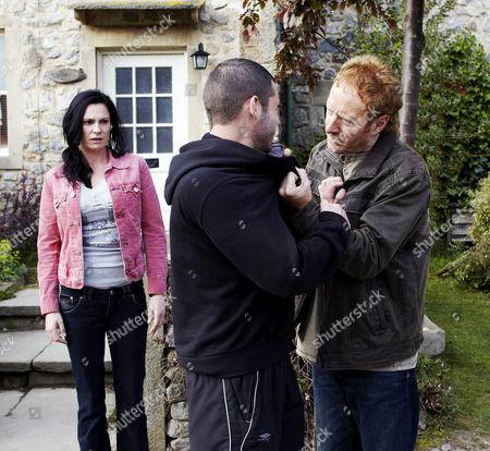 Editorial image of 'Emmerdale' TV Programme. - 2011