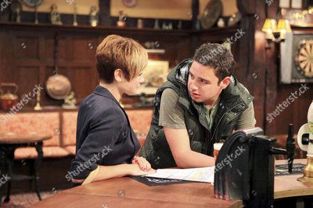 Mia Macey [Sapphire Elia] agrees to talk to Adam Barton [Adam Thomas].