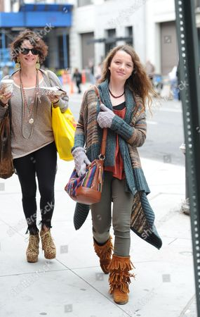 Editorial photo of 'The Carrie Diaries' TV programme on set filming, New York, America - 01 Apr 2012