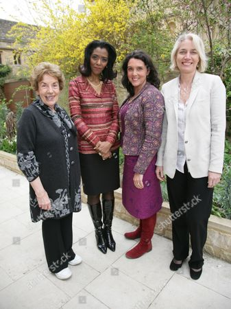 Stock Photo of Gillian Shephard, Zeinab Badawi, Bettany Hughes and Sarah Baxter
