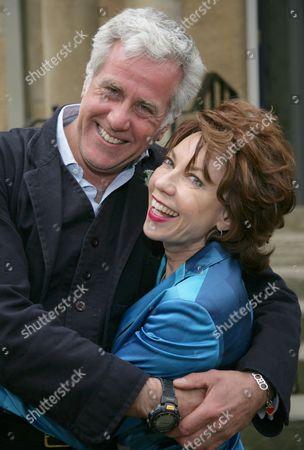 Paul Blezard and Kathy Lette