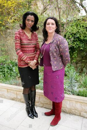 Zeinab Badawi and Bettany Hughes