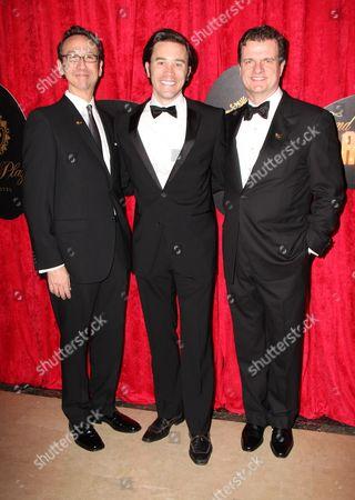 Jay Russell, Tom Pelphrey and Michael Cumpsty