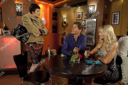 Rosie Webster [Helen Flanagan] is furious when Jeff Cullen [Steven Houghton] gives Stacey [Candy McCulloch] a top modelling job. bitter she wonders if it's because they're having a fling.