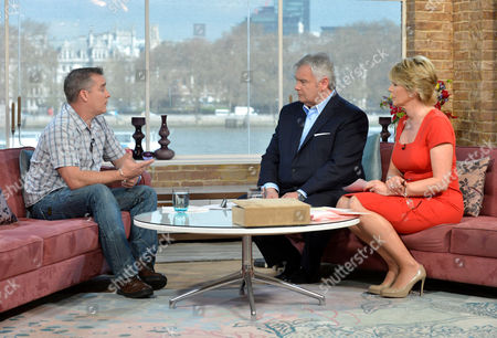 Darren Rathband with Eamonn Holmes and Ruth Langsford