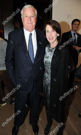 Louis B Susman and his wife Marjorie