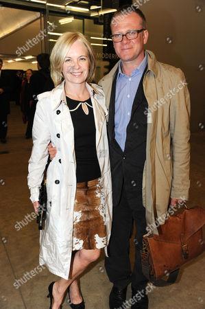 Mariella Frostrup and husband Jason McCue