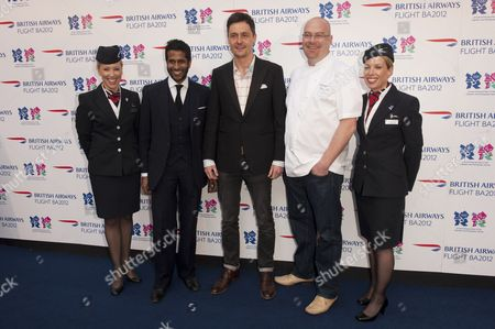 Editorial picture of 'Flight BA2012' pop up venue launch, London, Britain - 03 Apr 2012