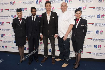 British Airways cabin crew, Prasanna Puwanarajah, Pascal Anson and Simon Hulstone