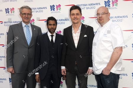 Stock Picture of Frank Van Der Post, Prasanna Puwanarajah, Pascal Anson and Simon Hulstone