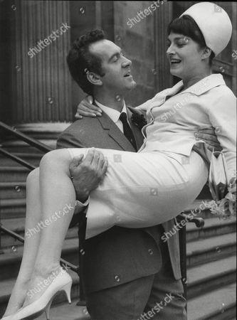 Actress Barbara Jefford Marries Actor John Turner At Marylebone Register Office