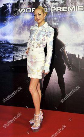 Editorial image of 'Battleship' World film premiere, Tokyo, Japan - 03 Apr 2012