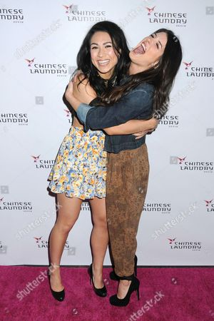 Cassie Steele and Shenae Grimes