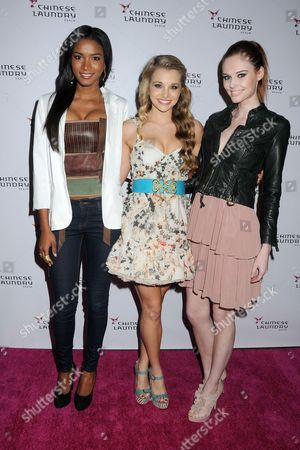 Editorial picture of Chinese Laundry Fashion Denim Launch Party, Los Angeles, America - 03 Apr 2012