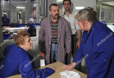 Nikhil Sharma [Rik Makarem]  interrupts Lisa Dingle [Jane Cox]  and Lizzie [Kitty McGeever] , ordering them back to work. When Derek Benrose [Stephen Bent]  tells Lizzie to ignore Lisa, Lisa snaps and shouts that he raped her.