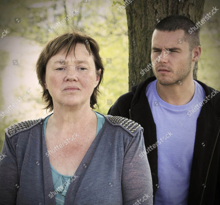 Jackson Walsh [Marc Silcock] tells Hazel Rhodes [Pauline Quirke] and Aaron Livesy the time has come