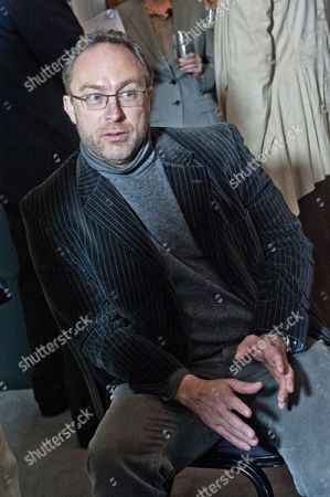 Stock Image of Jimmy Wales