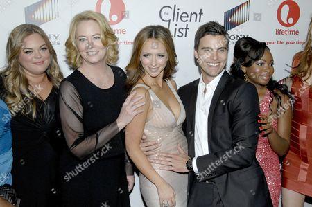 Rebecca Field, Cybill Shepherd, Jennifer Love Hewitt and Colin Egglesfield