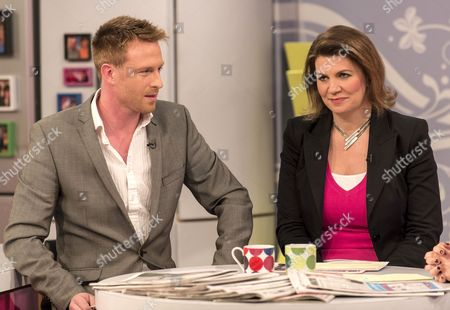 Stock Image of Olly Kendall and Julia Hartley-Brewer