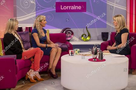 Marisa Peer and Rachel Evans with Jackie Brambles