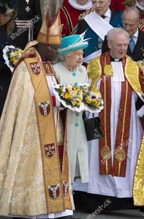Editorial picture of Royal Maundy Service, York, Britain - 05 Apr 2012