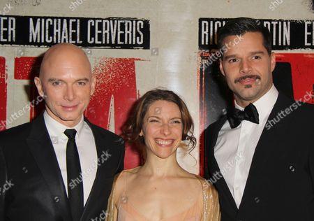Michael Cerveris, Elena Roger, Ricky Martin