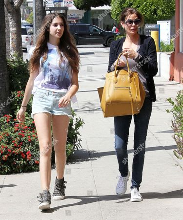 Teri Hatcher (R) and daughter Emerson Rose