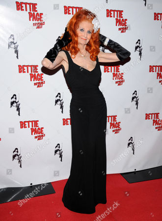 Editorial image of 'Bettie Page Reveals All' documentary film World premiere, Viva Las Vegas Rockabilly Weekend, Orleans Hotel and Casino, Las Vegas, America - 06 Apr 2012